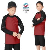 Baju Renang Anak SD Cowok Ukuran M, L dan XL DV-TG-011