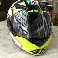 Helm Full Face Agv K3 Gothic Valentino Rossi