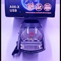 Lampu Tembak 20 Watt A06x Plus Usb Charger