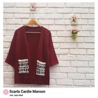 Scarla Cardie Maroon