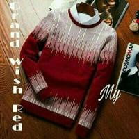 Grand Wish Red Sweater