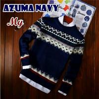 Azuma Navy Sweater