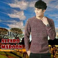 Alfaro Maroon Sweater
