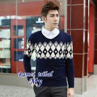Ramzi Tribal Sweater