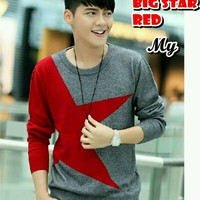 Big Star Red Sweater
