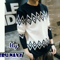 Zeru Navy Sweater