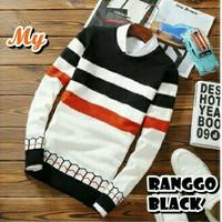 Ranggo Black Sweater