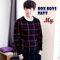 Box Boys Navy Sweater