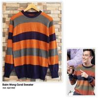 Baim Wong Coral Sweater