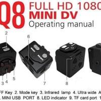 murah Kamera Pengintai Spycam Mini SQ8 Full HD Spy Cam Mini DV Full HD