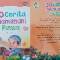 Buku Anak Full Color 30 Cerita Menemani Puasa New Baru Segel