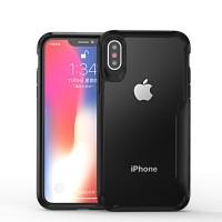 Acrylic Case iPhone XSMAX XR XS X MAX Casing Tempered Glass Akrilik