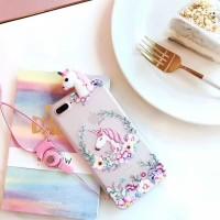 3D Intip Case / Peep Case Samsung Galaxy A6 Plus (Unicorn Series)