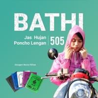 Jas Hujan PLEVIA BATHI 505 Raincoat Motor Poncho Murah Rain Coat Karet