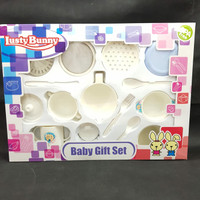 baby gift/ lusty bunny feeding set+ food maker
