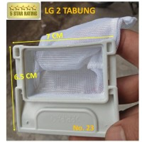 SARINGAN KOTORAN - FILTER MESIN CUCI LG 2 TABUNG WP905R P750N P80