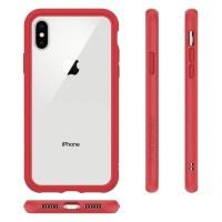 RhinoShield Iphone XS / X Case CrashGuard Bumper - Red