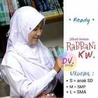 Jilbab anak sekolah rabbani kw SMP size M