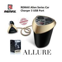 Smart Car Charger REMAX Alien Series CR-3XP 3 USB Ports Original