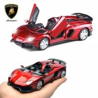Miniatur Diecast Skala 1:32 Mobil Lamborghini Aventador LP700 J