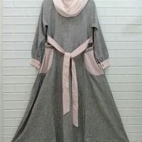 Dress sabyan linen