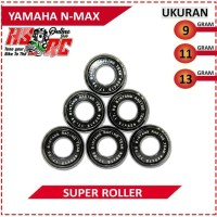 ROLLER Racing BRT Yamaha N Max AEROX 9 11 13 Gram Loller Bore UP Loler