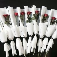 bouquet Setangkai mawar /bunga mawar 1 tangkai/ PROGRAM DONASI