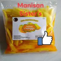 Manisan/asinan mangga pedas 1/2 kg