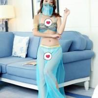 ACB299 - Bikini Costume Arabian Dancer Transparan Sexy Lingerie