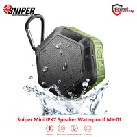 Sniper Mini Bluetooth Waterproof Speaker MY-01 -Green