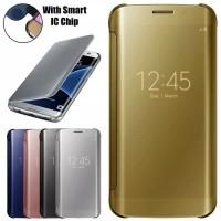 Flip Smart Mirror IPHONE 7 PLUS Auto Lock Case Flip Walet Cover Mirror