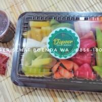 Rujak Buah Potong/rujak segar/rujak buah/rujak Mangga/asinan buah