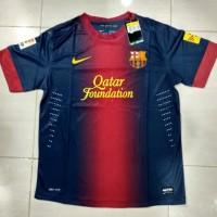 Jersey Barcelona Home 2012/2013 Retro Grade Ori Male Pria Baju Bola