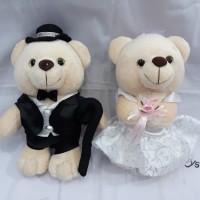 Boneka Pasangan Couple Wedding Dress
