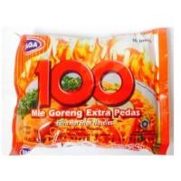 Gaga Mie 100 Goreng Extra Pedas