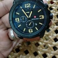 jam tangan swiss army chronograph quartz