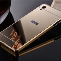 PROMO Infinix Hot 2 X510 Zero 3 X552 Metal Hard Case Bumper Mirror Ca