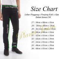 Murah Celana Bahan Kerja Model Slimfit Pria / Formal Cowok Slim fit C