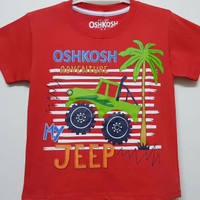 KAOS ANAK SIZE 7-10 OSHKOSH ADVENTURE MY JEEP