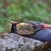 kacamata sunglass pria wanita polarized sepeda flak 2.0