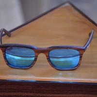 kacamata sunglass pria wanita kacamata kayu sandel retro 75045