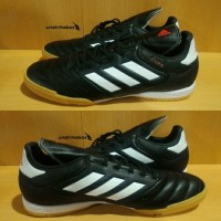 Sepatu Futsal Original | Adidas Copa 17.3 IN Leather - Black White