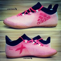 Adidas X Tango 17.3 IN - White Real Coral. Sepatu Futsal Best Seller.