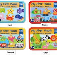 Mainan Edukatif / Puzzle Kayu / Jigsaw Puzzle Anak My First Puzzle