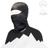 XABA Balaclava Hitam - Spandek- Masker Motor - Bandana