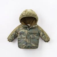 Jaket Anak Winter Coat Parkas 09 Army Green Camouflage