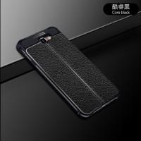 CASING Samsung galaxy j7 Prime Leather Anti crack auto focus case