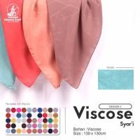 Kerudung Segi Empat Syar'i VISCOSE A2 UMAMA Scarf Hijab Jilbab Syari