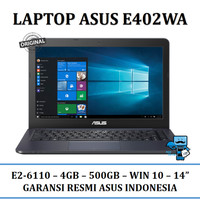 Laptop / Notebook ASUS E402WA AMD E2-6110, 4GB, 500GB, WIN 10 - RESMI