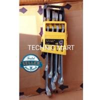 Kunci Ring Pas Set STANLEY 8 pcs (8-19mm)/ Combination Wrench Set